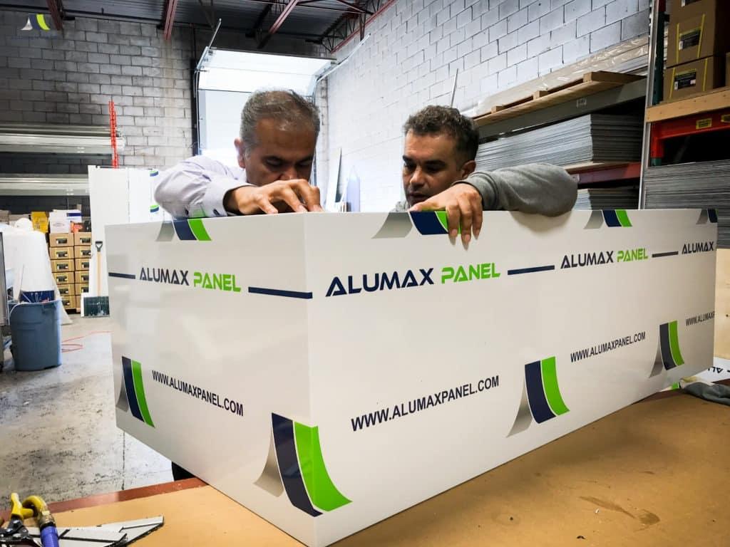 Alumax Panel workers